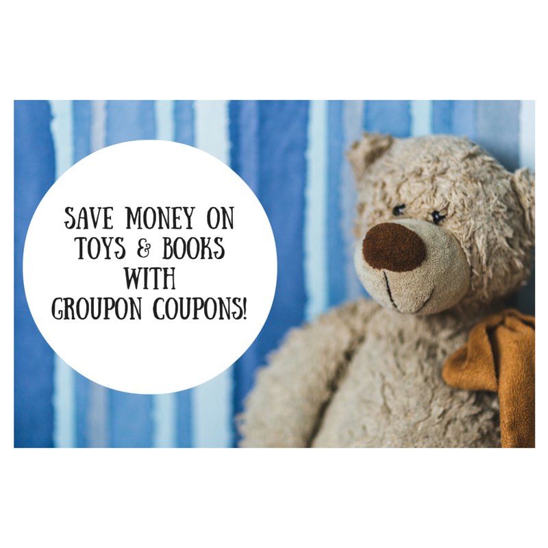Save Money on Toys & Books with Groupon Coupons!