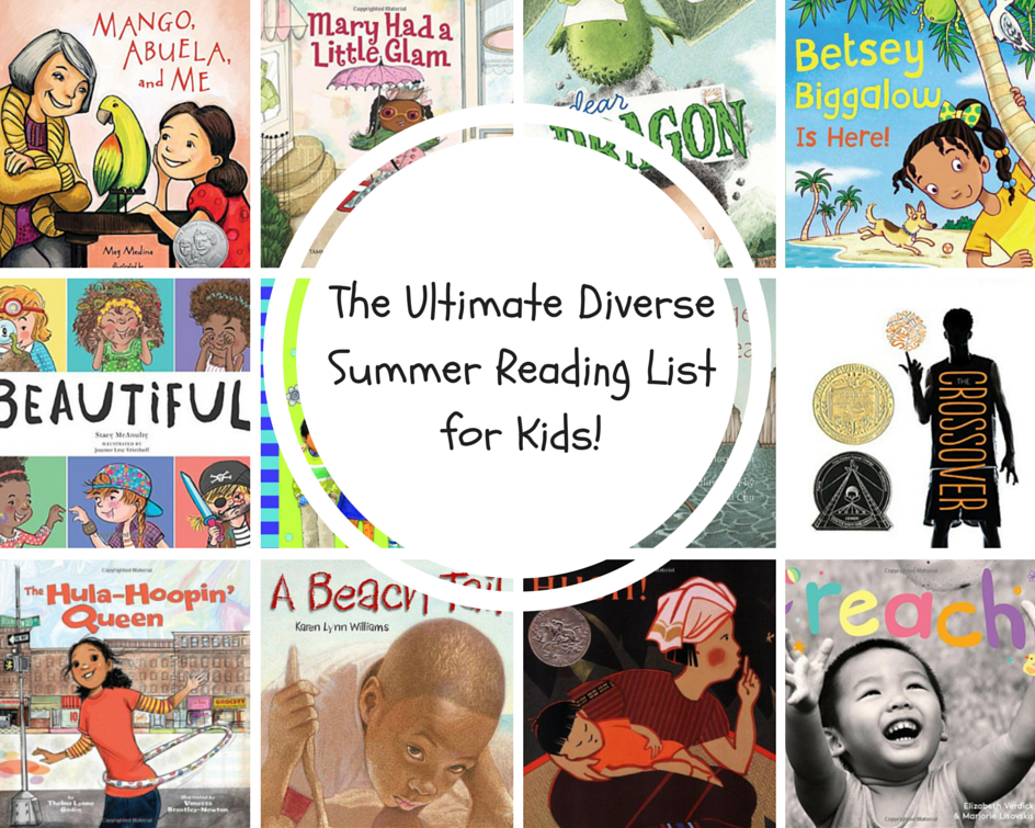 The Ultimate Diverse Summer Reading List for Kids!